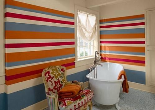 Почему водоэмульсионная краска ложится слоями. пятна и разводы на потолке после покраски: в чем причина и как исправить