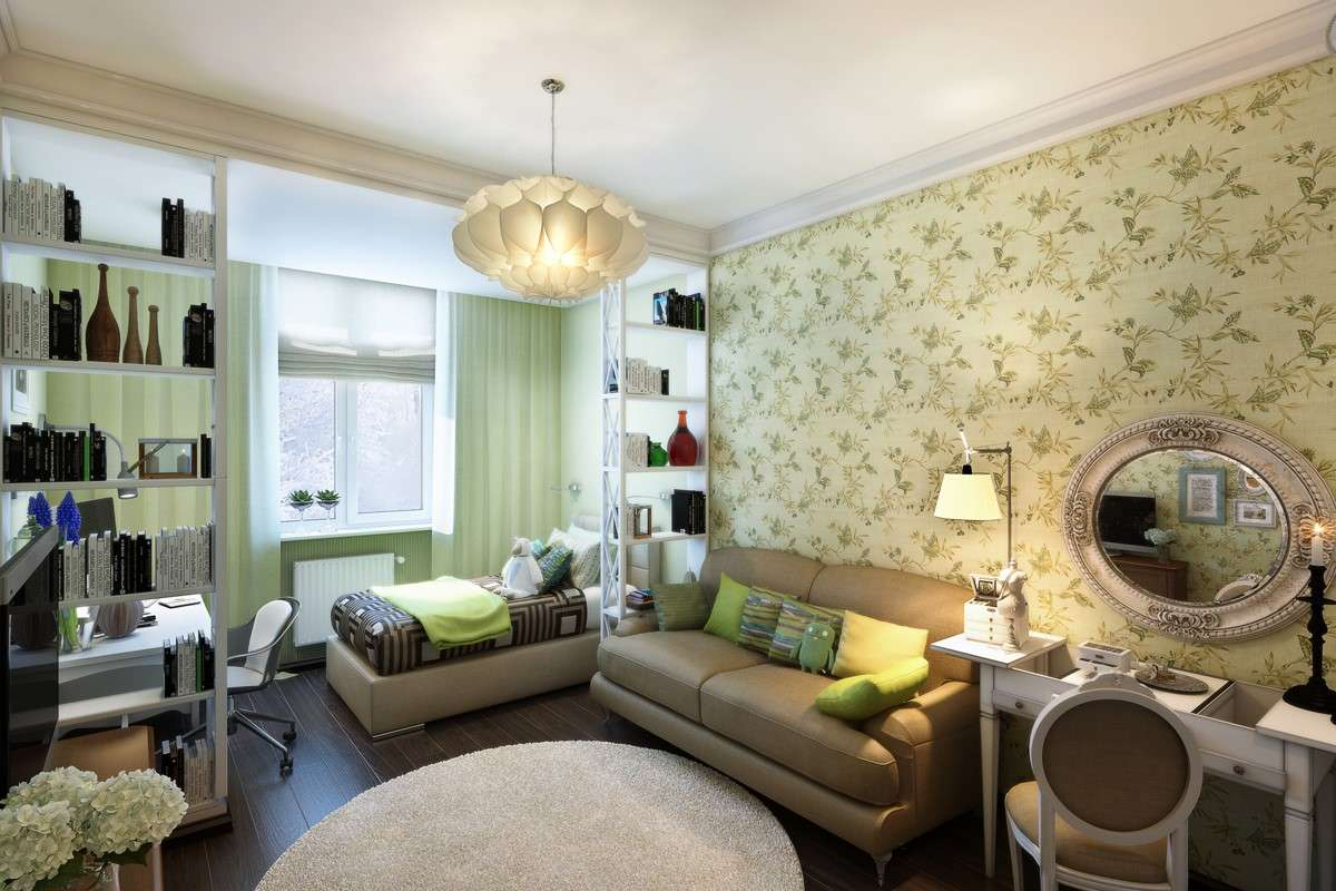 Дизайн детской комнаты для двух разнополых детей - 36 фото