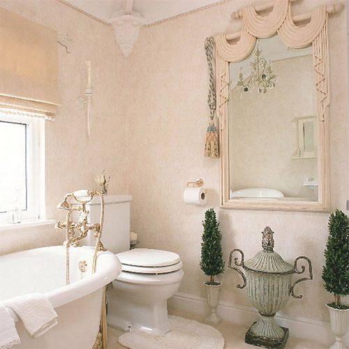 Жидкие обои в ванной: можно ли использовать покрытия, видео-инструкция по нанесению, фото