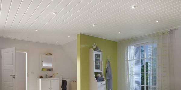 Обшивка потолка и стен пластиковыми панелями