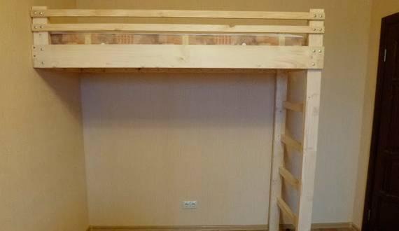 Детская кровать: конструкции, чертежи, требования - одноэтажная и двуэтажная