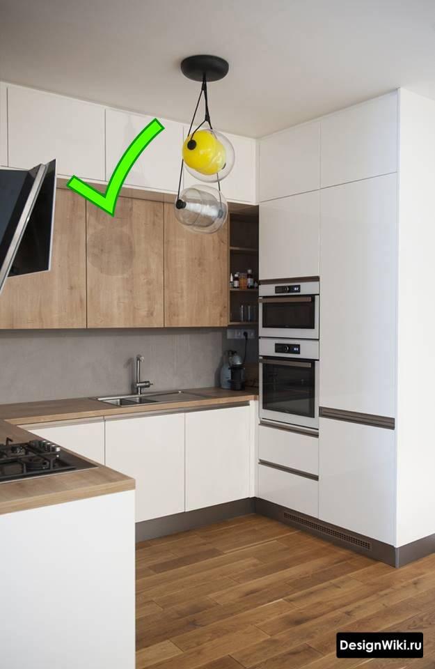 Кухня с деревянной столешницей: современный тренд в интерьере 2020 (+60 фото идей)   современные и модные кухни