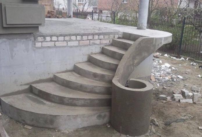 Крыльцо из бетона: пошаговая инструкция