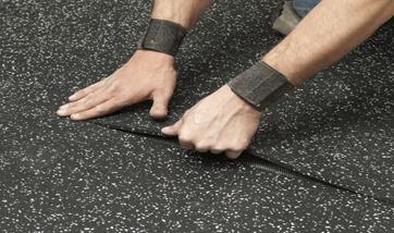 Резиновое покрытие для пола — варианты материалов для облицовки оснований, советы по их укладке