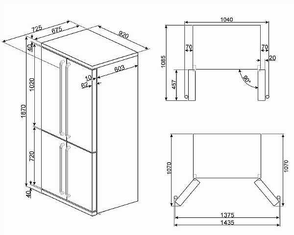 Размеры стандартных холодильников: какие бывают и какие выбрать, советы и рекомендации для покупателей