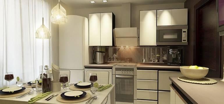 Дизайн кухни 9 кв. м: фото интерьеров, ремонт и планировка