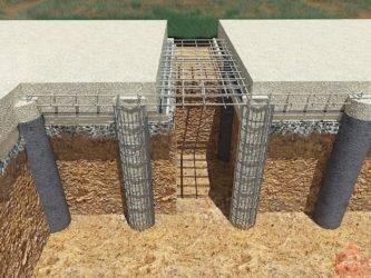 Технология установки буронабивных свай: виды свай, конструкция, сфера применения