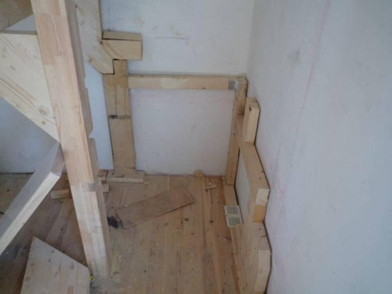 Приставные лестницы своими руками: виды и 2 инструкции