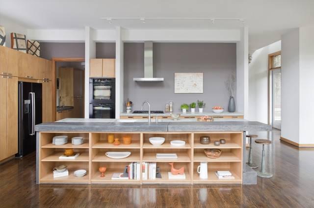 Кухня с полуостровом - 15 советов по обустройству и 70+ реальных фото