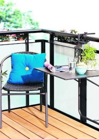 Как сделать складной столик на балкон своими руками? - блог о строительстве