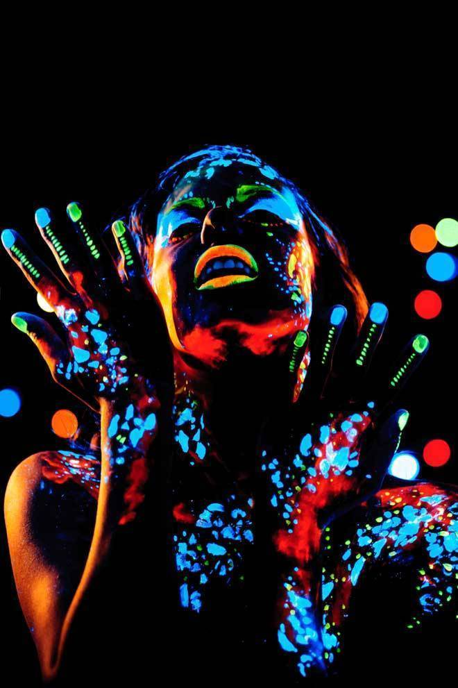 Как сделать светящуюся краску своими руками: варианты