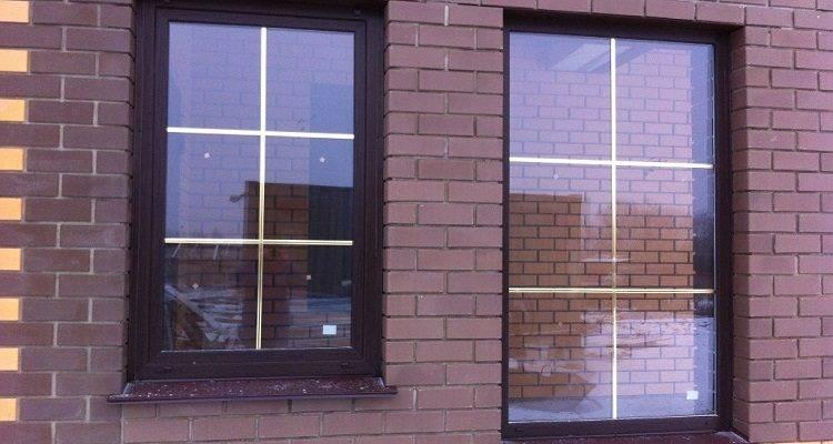 Раскладка на окнах пвх: расстекловка, стеклопакет с раскладкой в интерьере