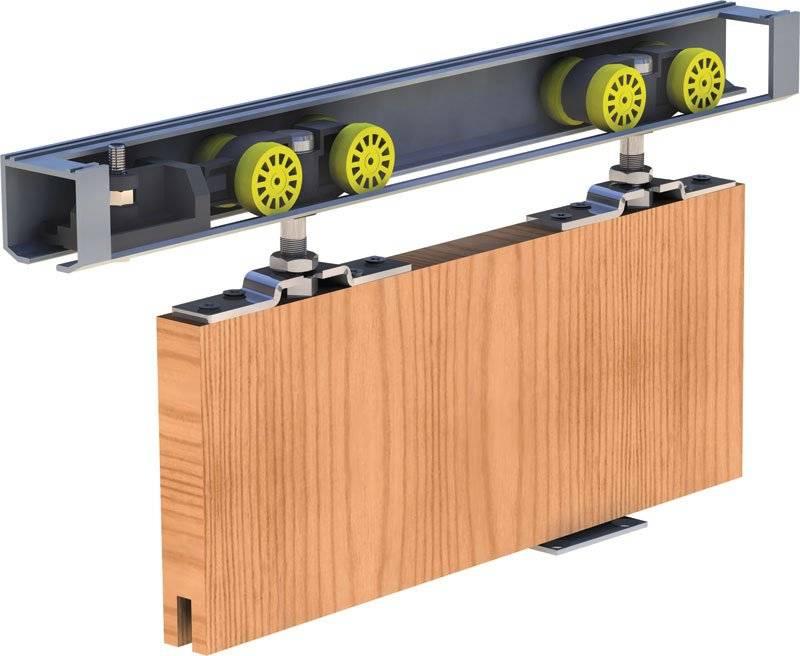 Механизмы для раздвижных дверей (49 фото): подвесная, амбарная и компланарная системы раздвижения для межкомнатных конструкций