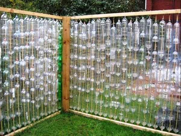 Как сделать забор из пластиковых бутылок своими руками: инструкция