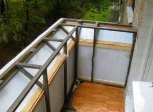 Остекление балкона в хрущевке – советы по выполнению работ