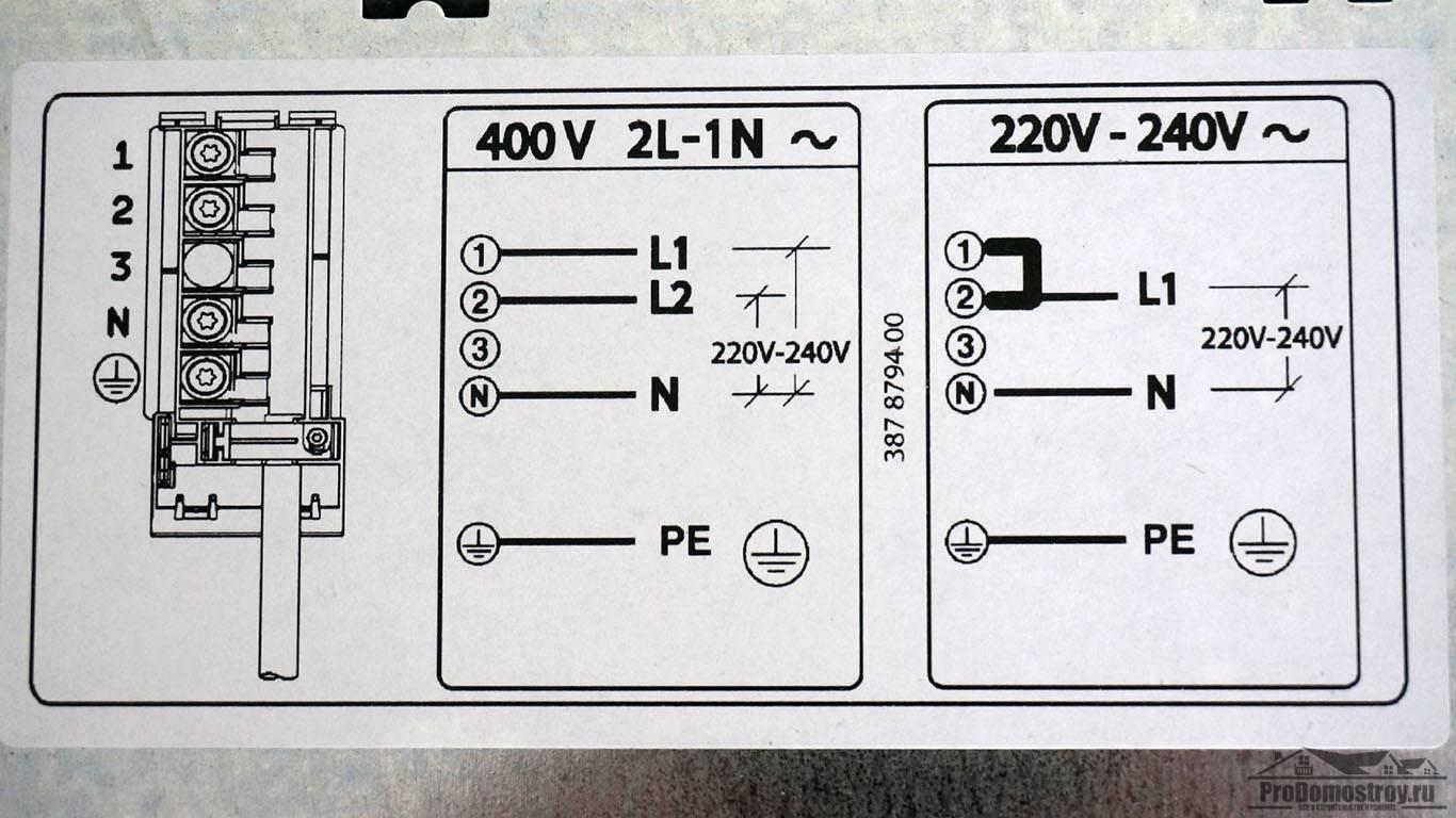 Подключение варочной панели к электросети самостоятельно - уютный дом