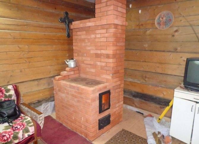 Печь-камин для бани и сауны своими руками