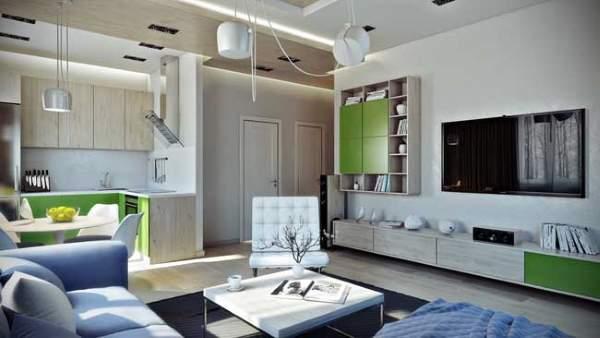 Проекты дизайна квартиры студии 30 кв м