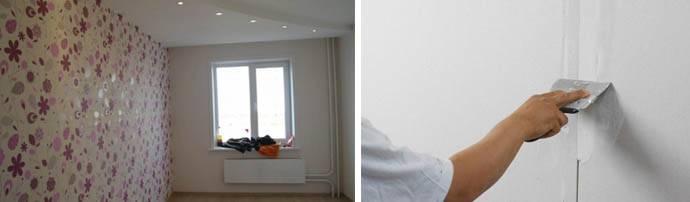 Как клеить обои на фанеру: как правильно подготовить материал, нанести состав, шпаклевать ли, как делать на потолке, как снять покрытие - рекомендации и инструкция