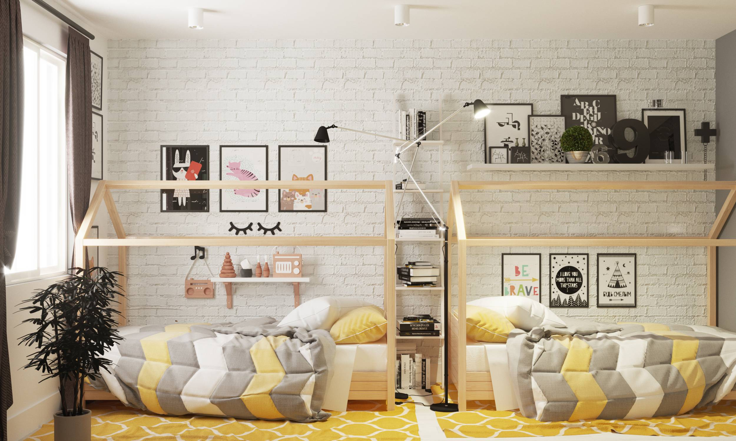 Дизайн детской комнаты для девочек - фото примеров