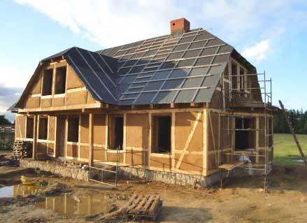 Как построить самый дешёвый дом из глины и дров? (часть 2)