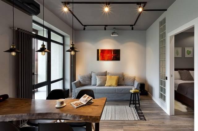 Стиль лофт в интерьере: 100+ стильных индустриальных решений и фото идей
