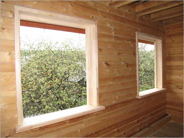 Окосячка окон в деревянном доме: что это такое обсада, виды, сборка обсадной коробки