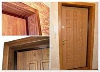 Как обшить дверь дермантином своими руками пошаговая инструкция