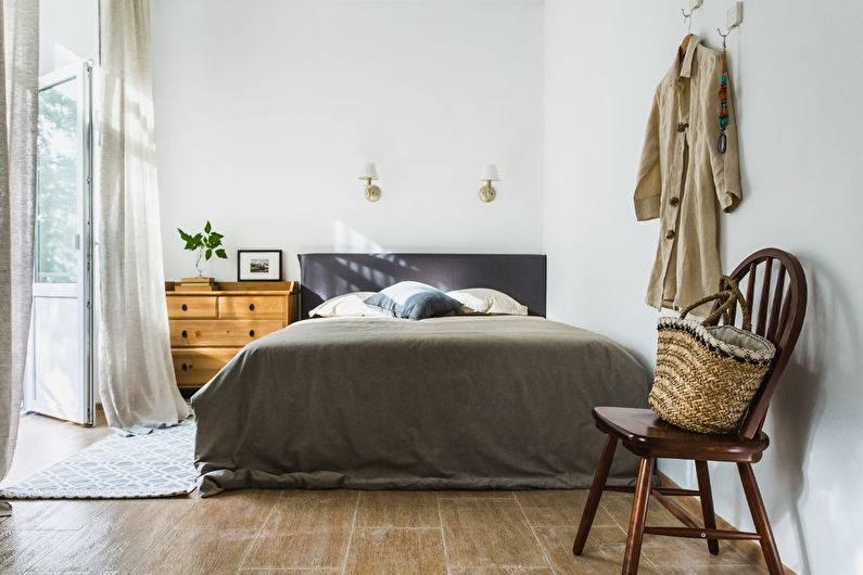 Спальня в скандинавском стиле: особенности, фото в интерьере