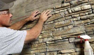 Изготовление декоративной гипсовой плитки под камень и кирпич своими руками в домашних условиях