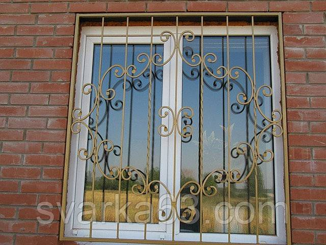Решетки на окна своими руками технология, эскизы,методика изготовления