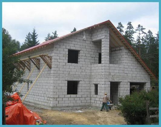 Как построить дом из газобетона своими руками: Пошаговая инструкция