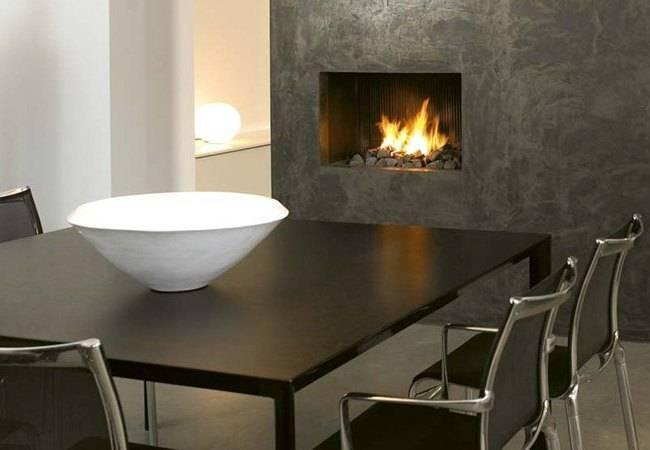 Островной камин для размещения в доме и квартире, выбираем подходящий вариант