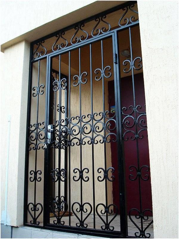 Металлические решетчатые двери - купить в люберцах по цене от 8000 руб.