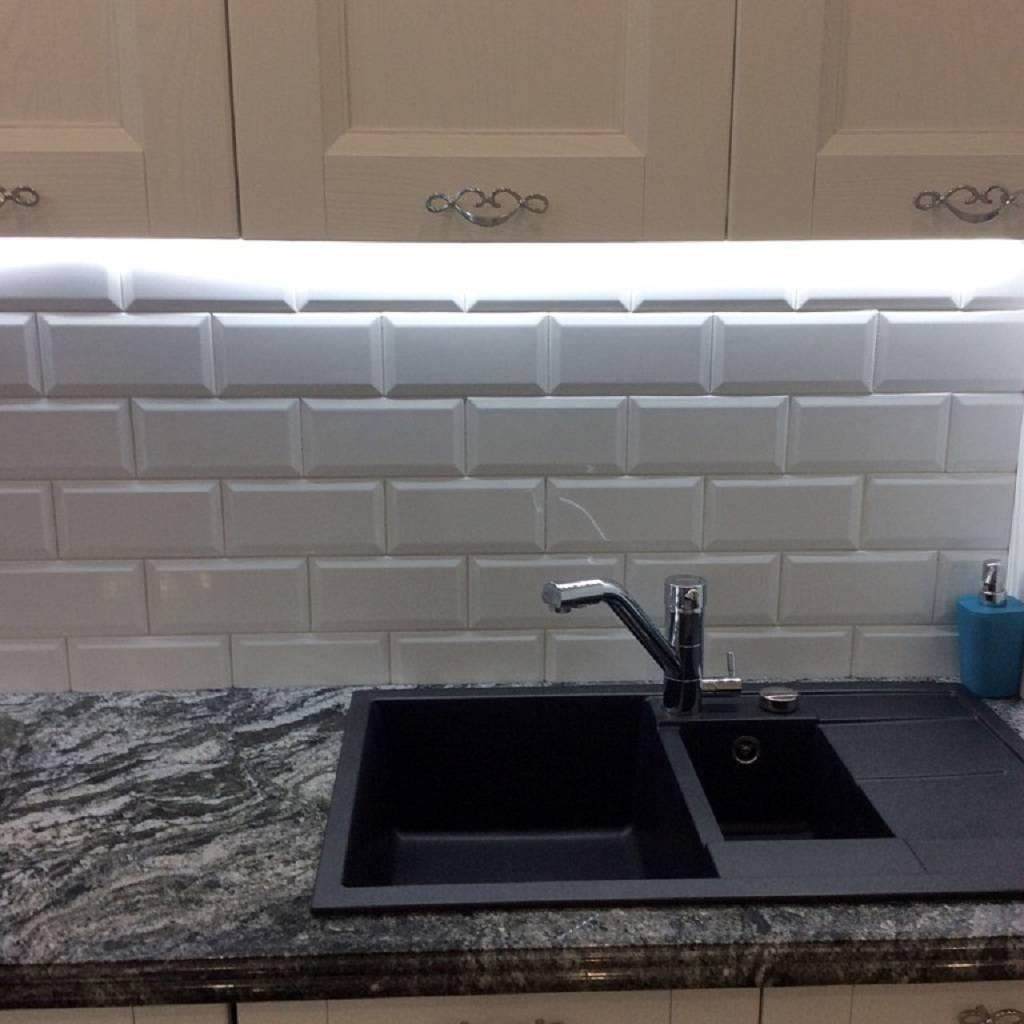 Кухонный фартук из плитки кабанчик: как выложить красиво (50+ фото идей)
