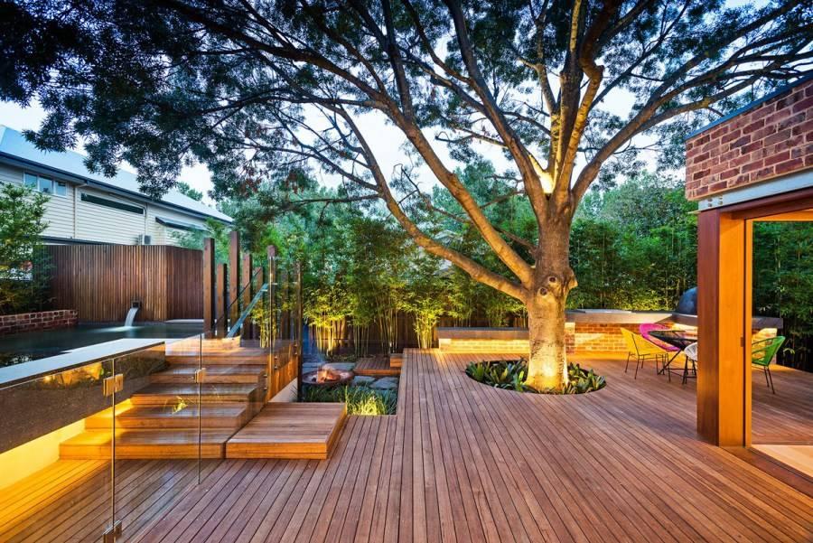 """5 домов, где внутренний двор является душой и главной фишкой: в одном площадка защищает от прибрежных ветров, в другом находится """"райский сад"""" с бассейном"""