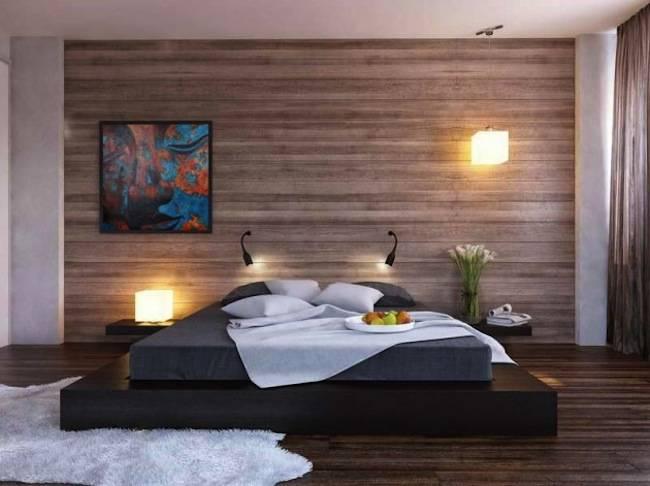 Спальня в стиле минимализм 2017, 93 фото дизайна интерьера | the architect