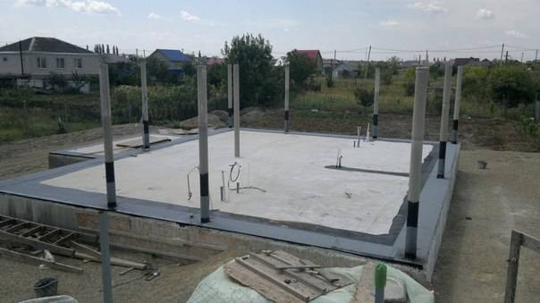 Этапы строительства частного дома своими руками