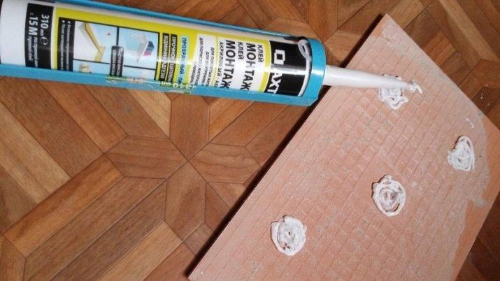 Жидкие гвозди для керамической плитки, как правильно применять