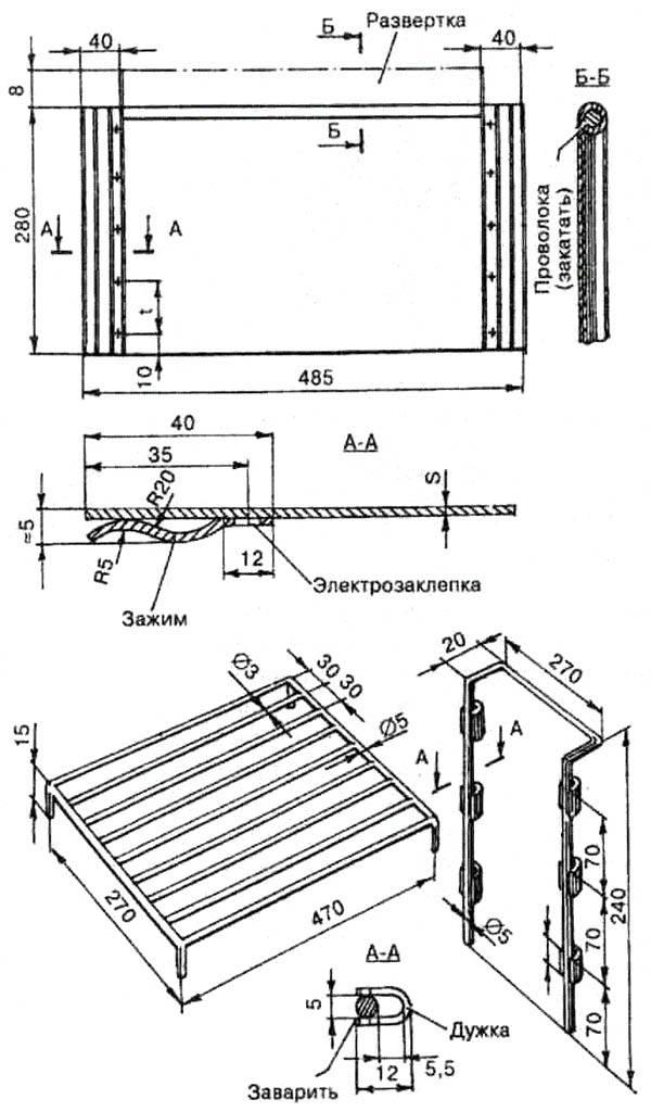 Как сделать коптильню горячего копчения из металла своими руками