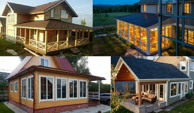Как сделать Кирпичный пристрой к деревянному дому своими руками? Обзор проектов