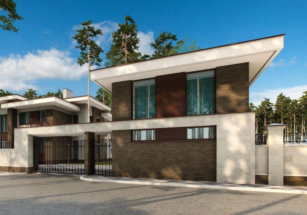 Дома с плоской крышей — подбор материалов и технология реализации кровельных работ (70 фото)