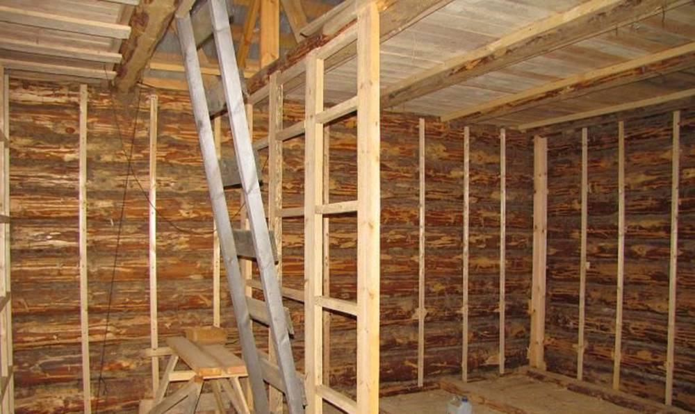 Отделка стен гипсокартоном в деревянном доме своими руками