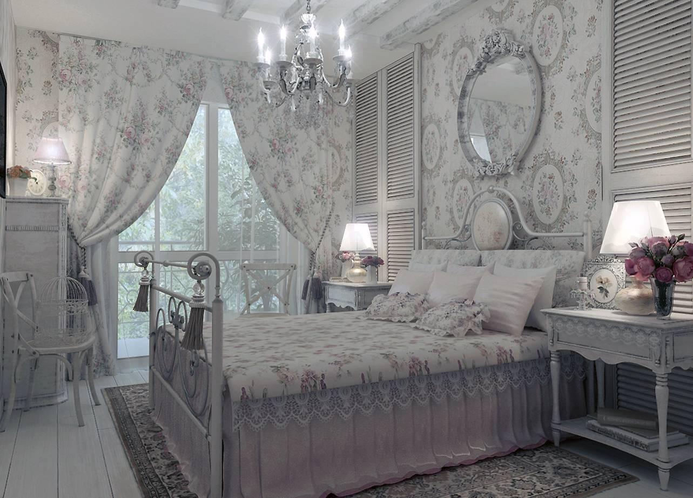 Стиль шебби-шик в интерьере прихожей, гостиной, кухни, спальни и ванной комнаты, декоративные подушки и другие варианты оформления квартиры или дома