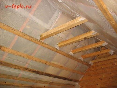 Шапка мономаха для частного дома, или утепление крыши минватой