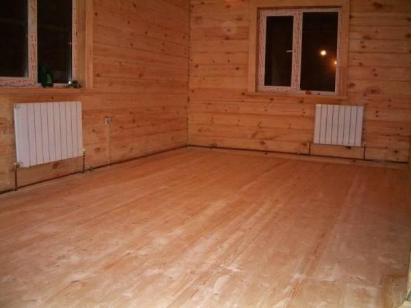 Утепление пола в деревянном доме: пошаговая инструкция