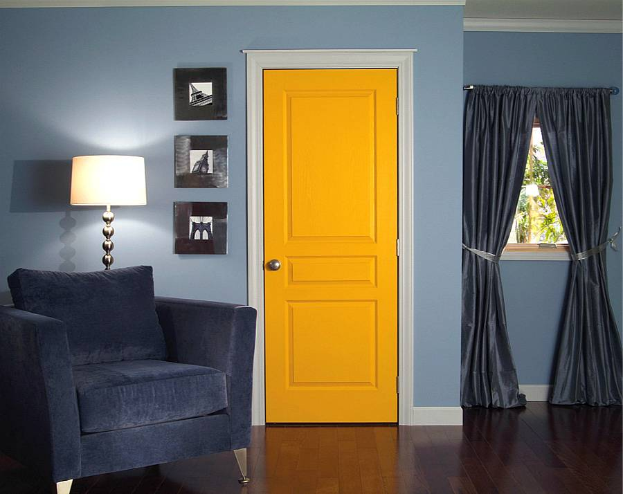 Эмалированные двери