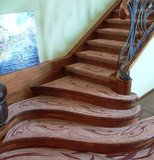 Как построить лестницу деревянную — от расчета до покраски