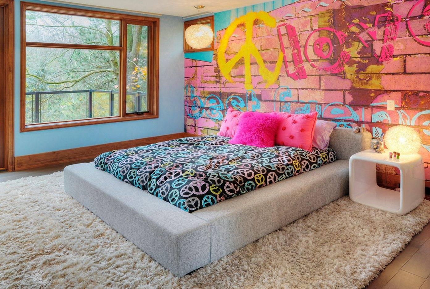 Дизайн обоев с рисунком: 100+ фото, лучшие идеи для кухни, гостиной и спальни