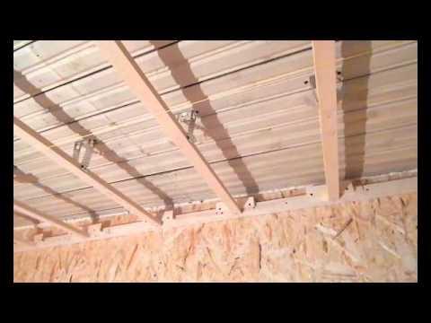 Как сделать потолок из осб – пошаговое руководство
